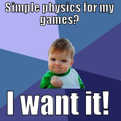 Simple physicsfor game developers