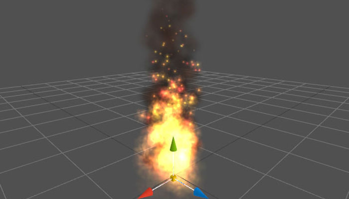 Flare3D particles
