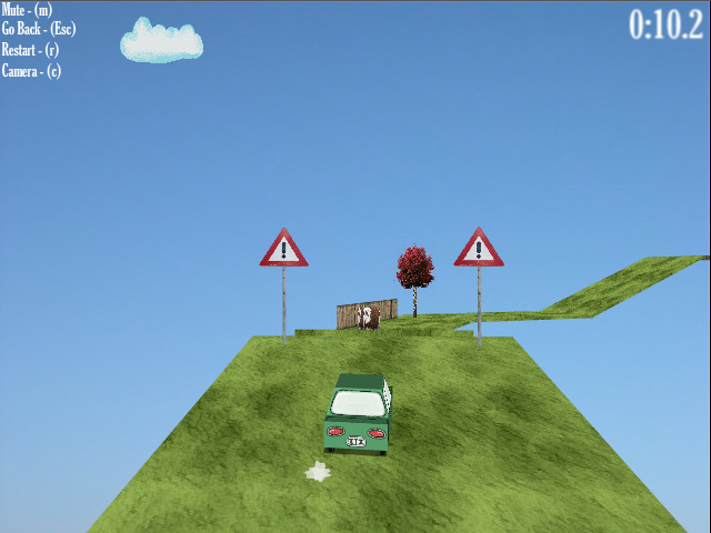 A SMALL CAR made with Flare3D
